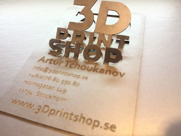 My little business card 3d printing laser cutting and other my little business card 3d printing laser cutting and other goodies 3dprintshop reheart Choice Image