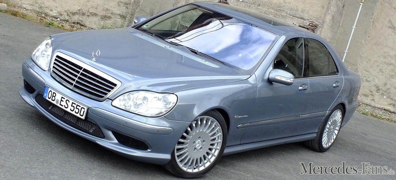 Mercedes S55 Amg Die Große Freiheit 2004er W220 Sprengt Mit 320 Km H Alle Fesseln Auto Der Woche Mercedes Benz Benz Mercedes Benz Cars