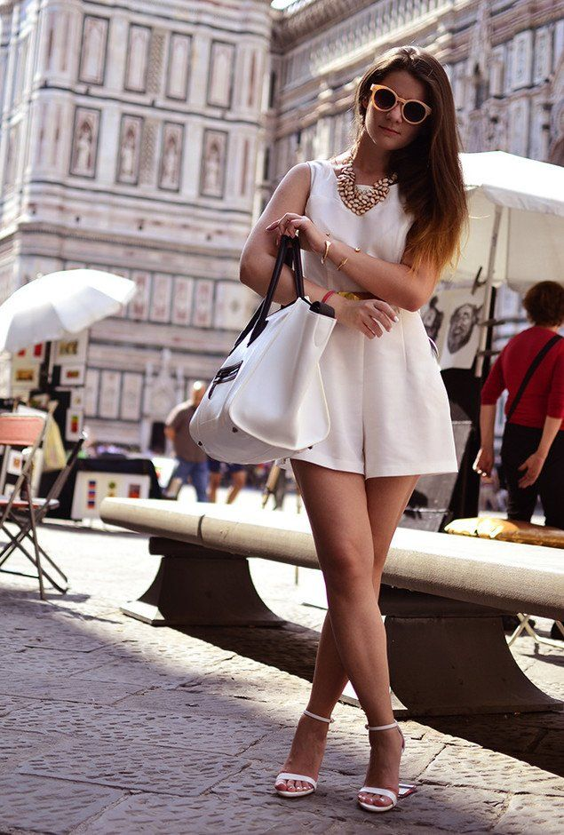 5d79f91e88c8  roressclothes closet ideas  women fashion White Dress Outfit with Ankle  Strap Shoes