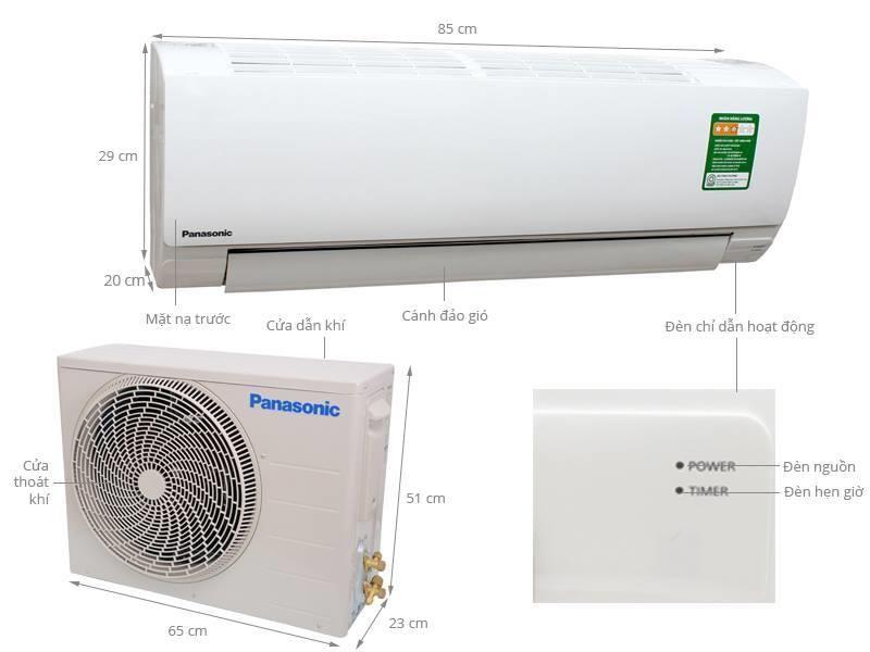May Lạnh Treo Tường Panasonic N9skh 8 1 0hp 9 000btu H May