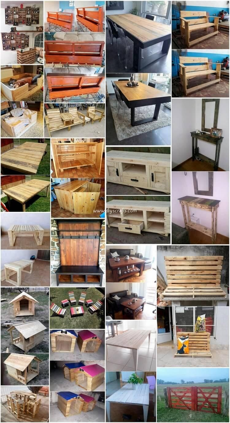 wiederverwendete möbelideen cool ideas to upcycle used wood pallets for the home in 2018 ideas