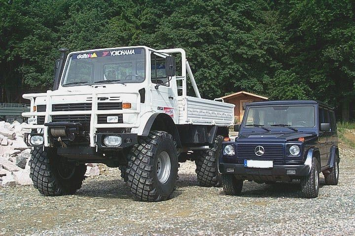 Unimog vs G-wagon | Mighty Machines | Pinterest | 4x4, Offroad and