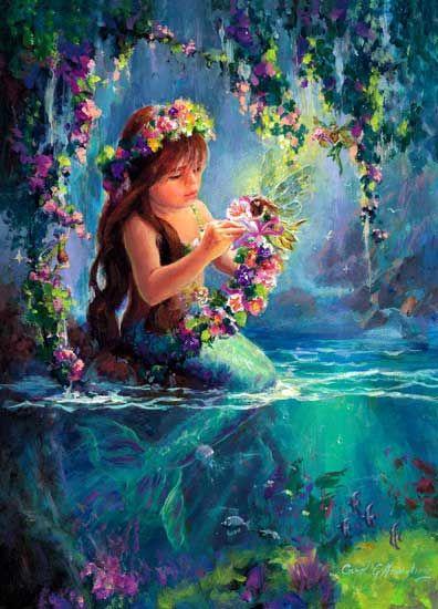 merfairies ~ http://universal-wellness.blogspot.com/2015/02/baring-my-soul-and-planting-dream.html