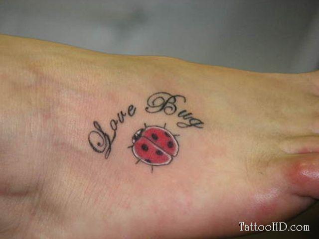 Love Bug Tattoo | Tattoos | Tattoos, Bug tattoo, Lady bug tattoo