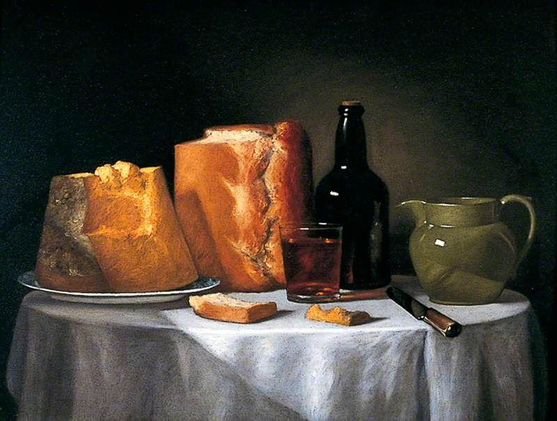 Still Life with Bread and Wine, Henri Horace Roland de la Porte, York Museums Trust, UK
