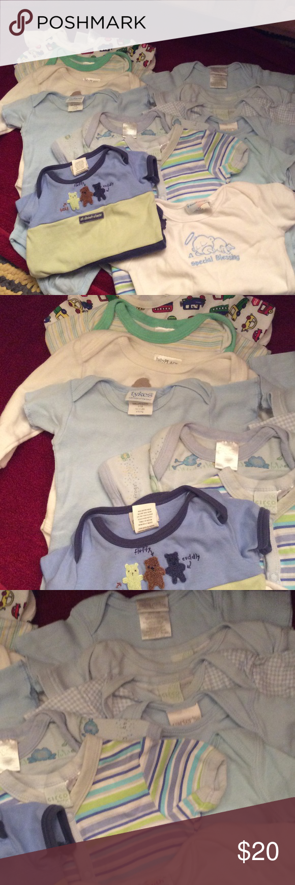 Boy Baby Clothes Few Stains Priced To Sell Now Baby Clothes Assorted