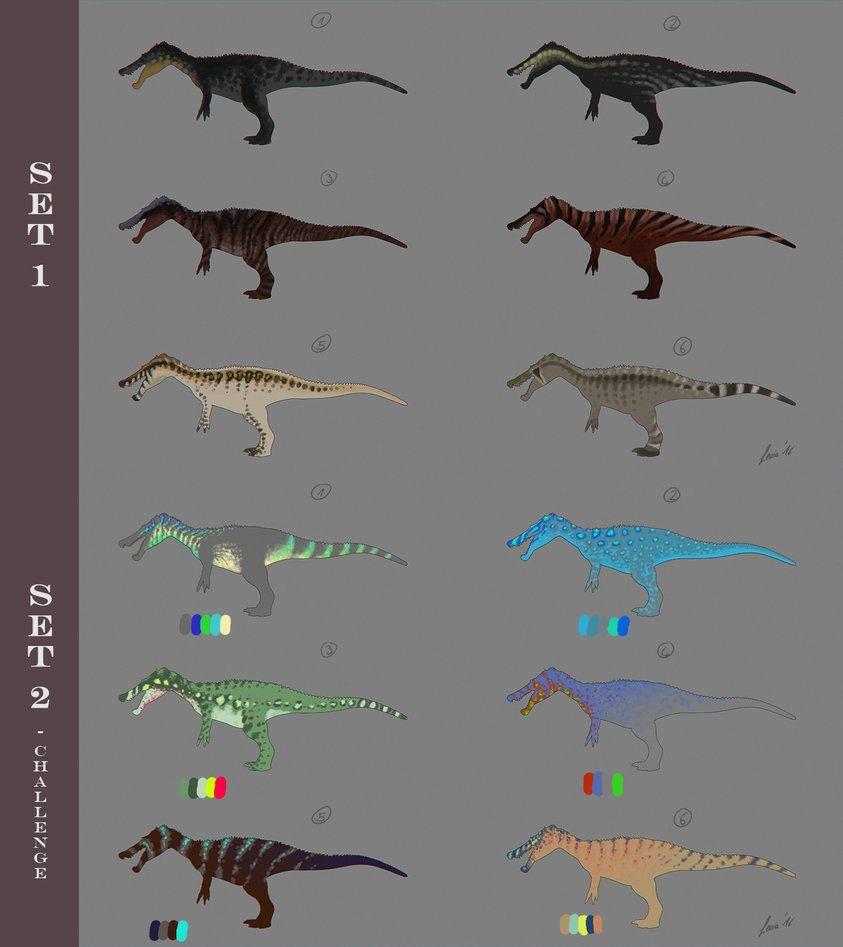 Baryonyx Skin Designs By Leviadraconia Dinosaur Time Dinosaur Art Prehistoric Creatures