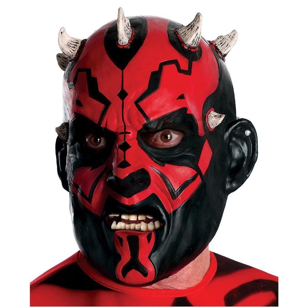 Darth Maul Mask Adult Star Wars Costume Fancy Dress