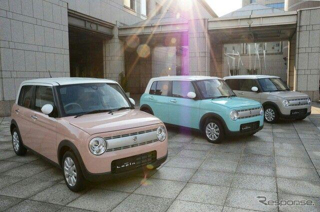 Suzuki Alto Lapin Cute Cars Mini Van Kei Car