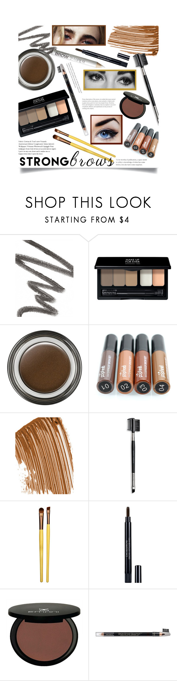 Strong Brows Join my group! Mary kay, armani, Brows