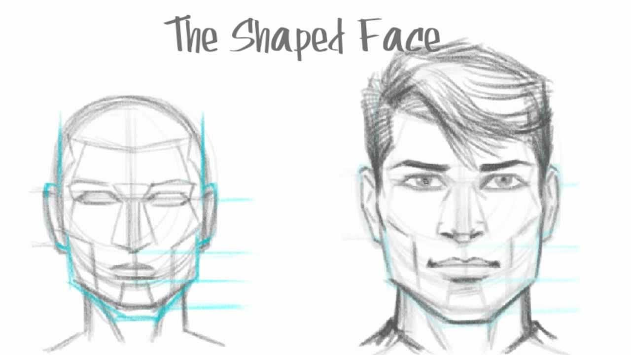 How To Draw A Face 25 Step By Step Drawings And Video Tutorials Face Drawing Drawing Tutorial Pencil Sketches Of Faces
