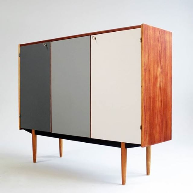 Retro Design Möbel From Our Archive: A Danish Teak Highboard From The 1960's ...