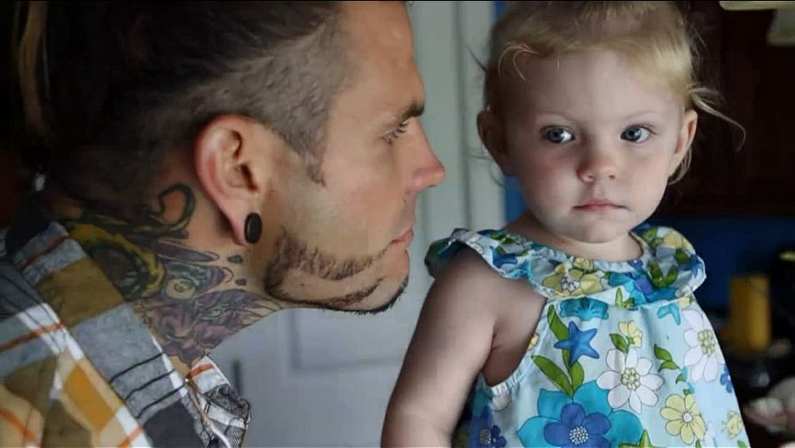 Jeff Hardy's first daughter, Ruby Claire