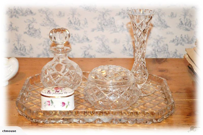 sports shoes 4688c bec29 Superb Crystal dressing table set, not often seen on Trade ...
