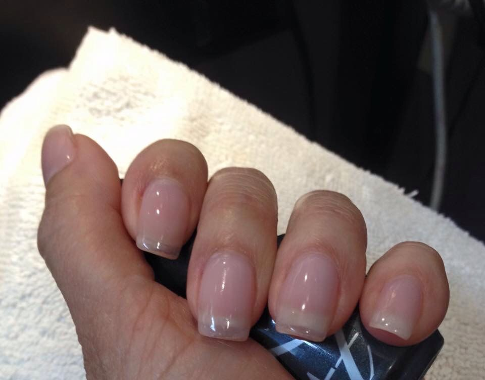 Gel Nail Extension Without Tips