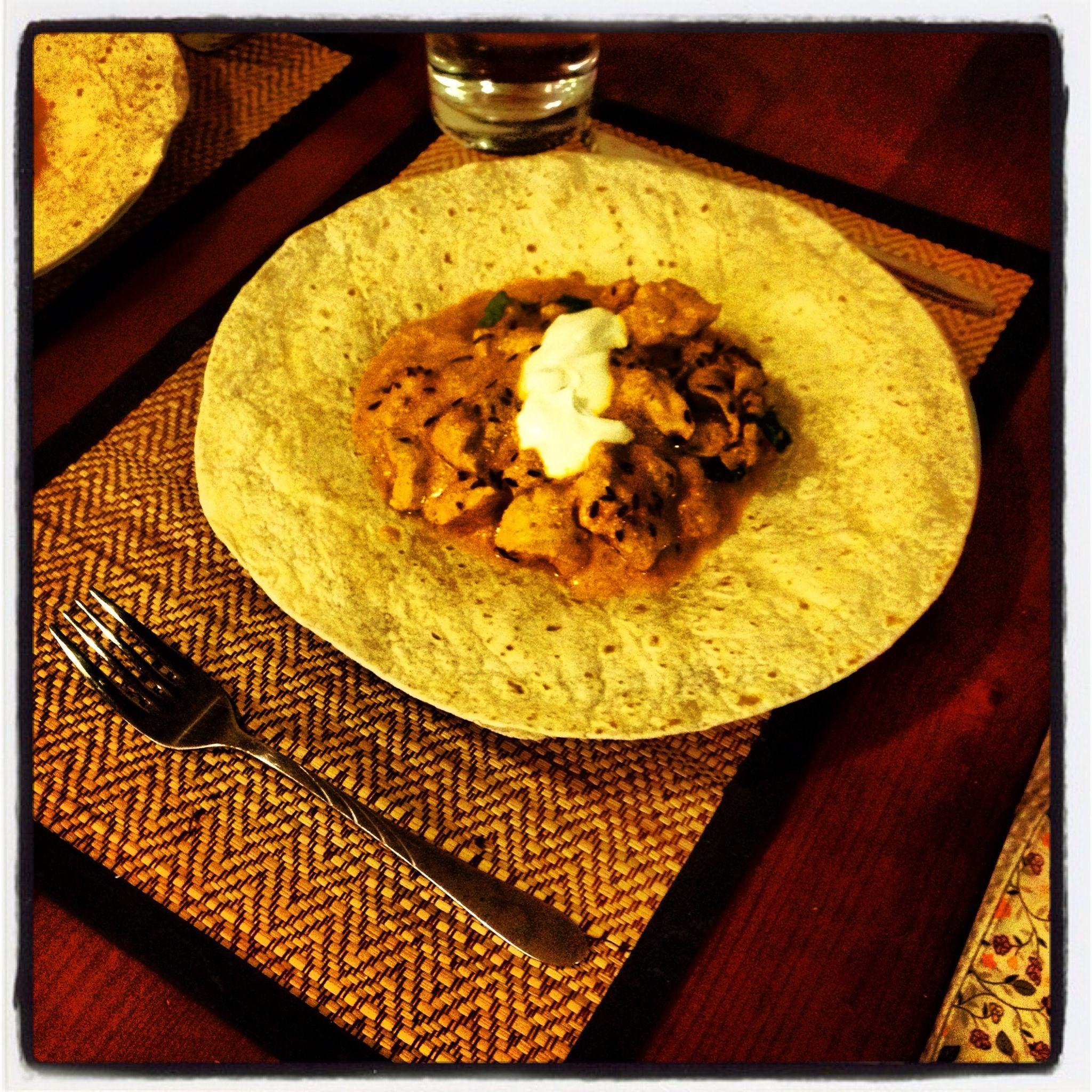 Home made Chicken Tikka Masala!