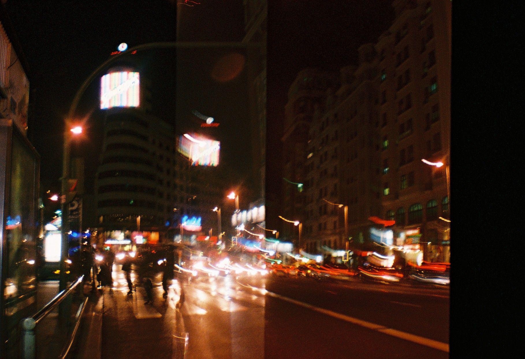La noche madrileña...