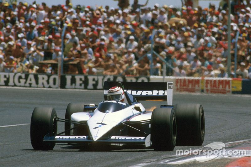 Last F1 Brabham victory, French GP at Le Castellet, Paul