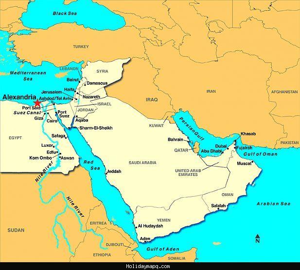 alexandria mapa cool Alexandria Map   Holidaymapq   Pinterest   Egypt, Cruise and  alexandria mapa