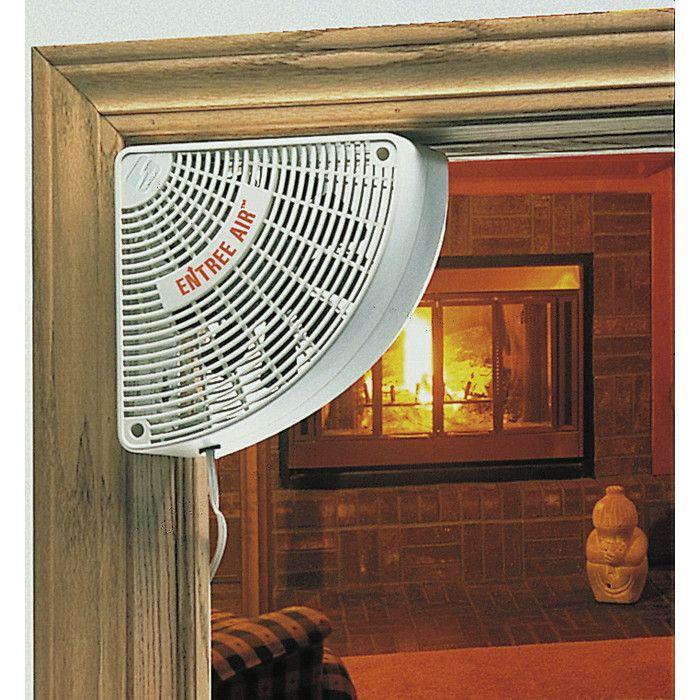 Plow Hearth Doorway Wall Fan Reviews Wayfair Fireplace Accessories Window Fans Wood Stove