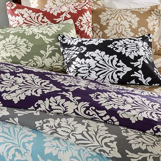 Havana Floral Reversible 3-piece Duvet Cover Set | Overstock.com Shopping - The Best Deals on Duvet Covers