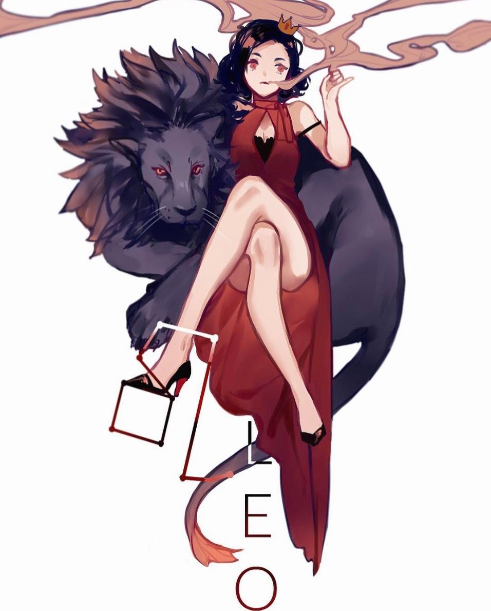 Leo ♌️ - Inuiikun | Zodiac characters, Anime zodiac ...