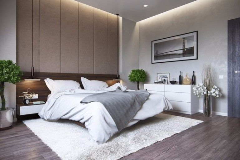 Discover the trendiest master bedroom designs in 2017 for Simple interior design for bedroom