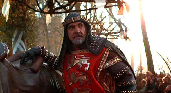 Our Favorite Cameos: Sean Connery in 'Robin Hood: Prince of Thieves' |  Movie News | Robin hood, Sean connery, King richard