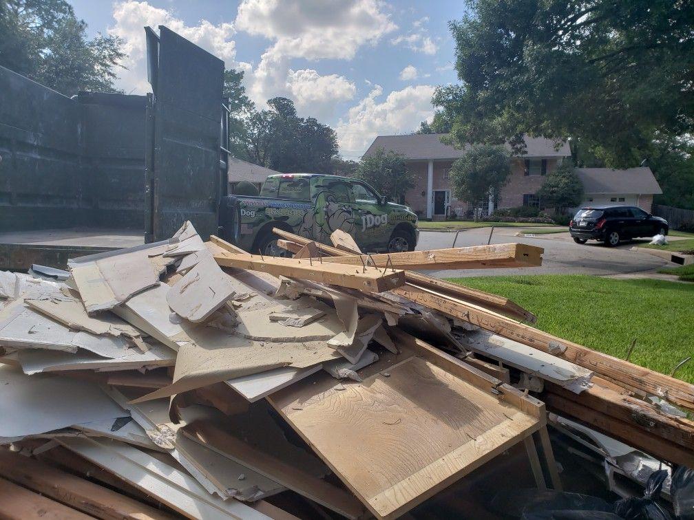 Skip the dumpster and get JDog   Junk Removal   Junk removal