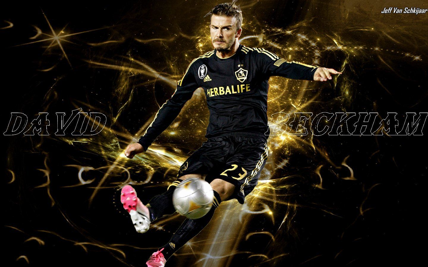 David beckham playing soccer wallpaper hd
