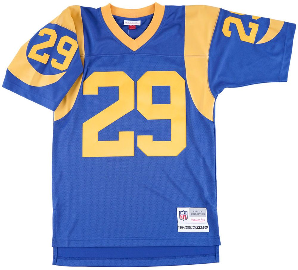 purchase cheap 21212 93b7f LOS ANGELES RAMS 1984 ERIC DICKERSON JERSEY THROWBACK ...