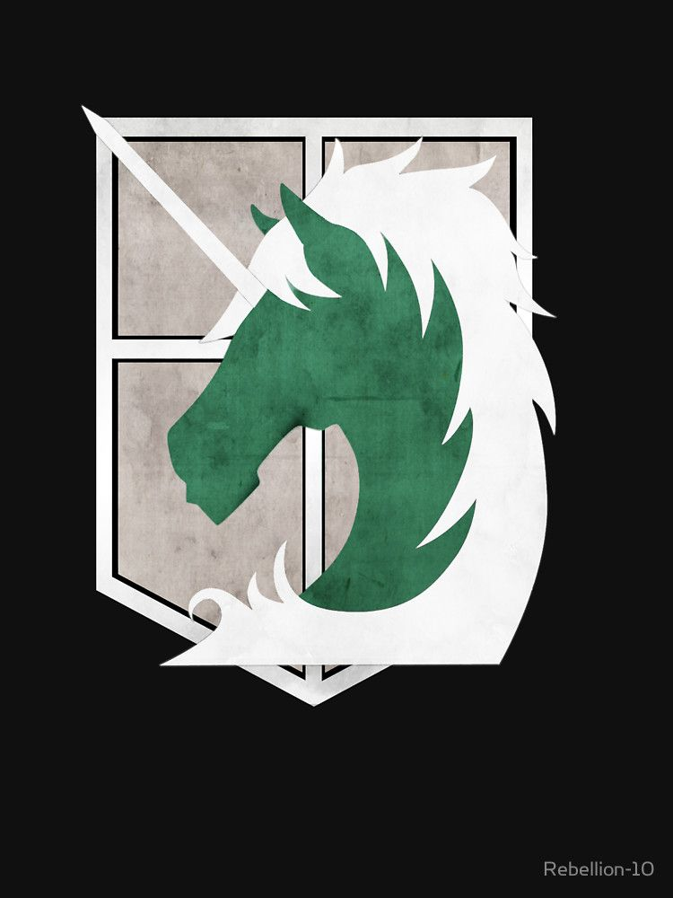 The Logo Of The Military Police An Organisation Of The Anime Attack On Titan Attack On Titan Symbol Anime Attack On Titan