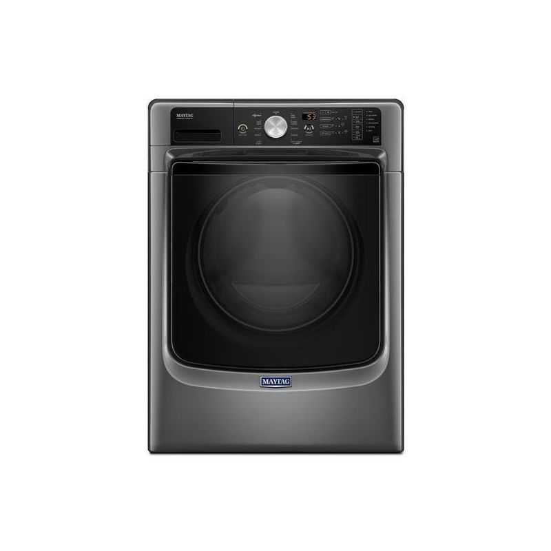 Maytag Mhw5500f 27 Inch Wide 4 5 Cu Ft Energy Star Rated Front Loading Washer Metallic Slate Washers Washer Front Loading Gas Dryer Electric Dryers Maytag