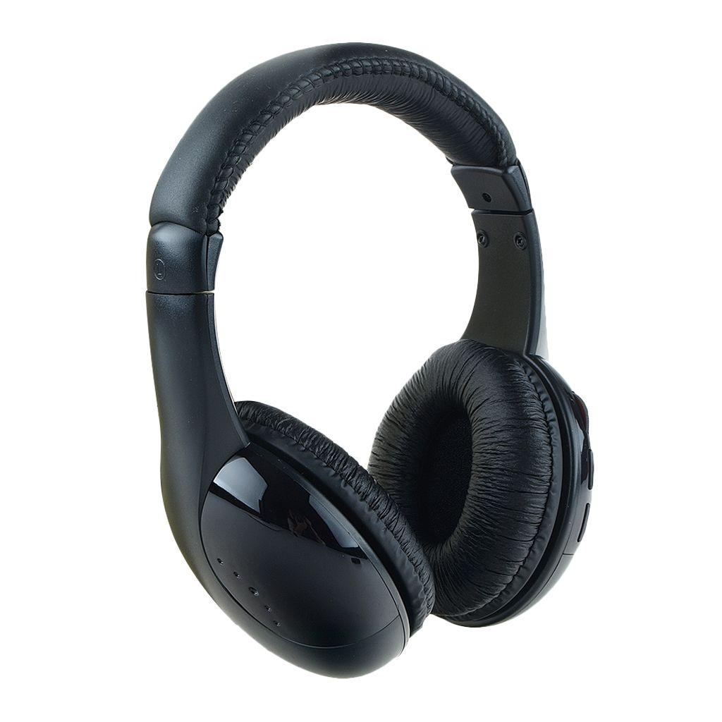 5 In 1 Wireless Headphone Fm Radio Monitor Hi Fi Stereo