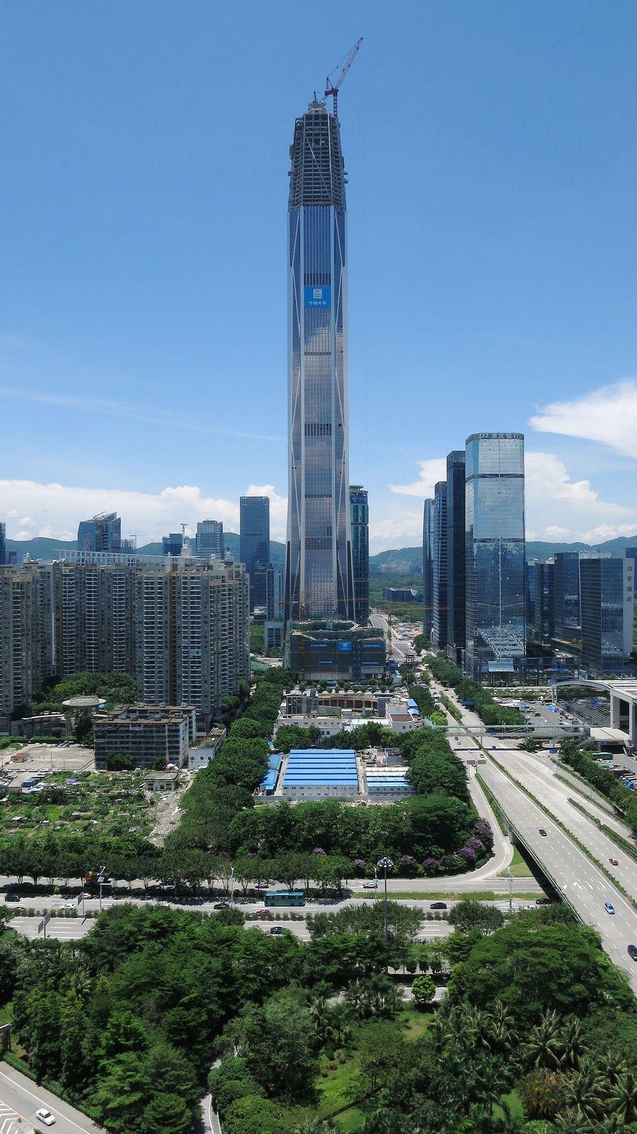SHENZHEN | Ping An Finance Center | 600m | 1969ft | 115 fl ...