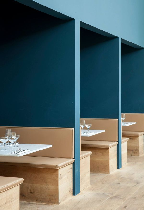 'Italy', a restaurant in Copenhagen, designed by Norm Architects.