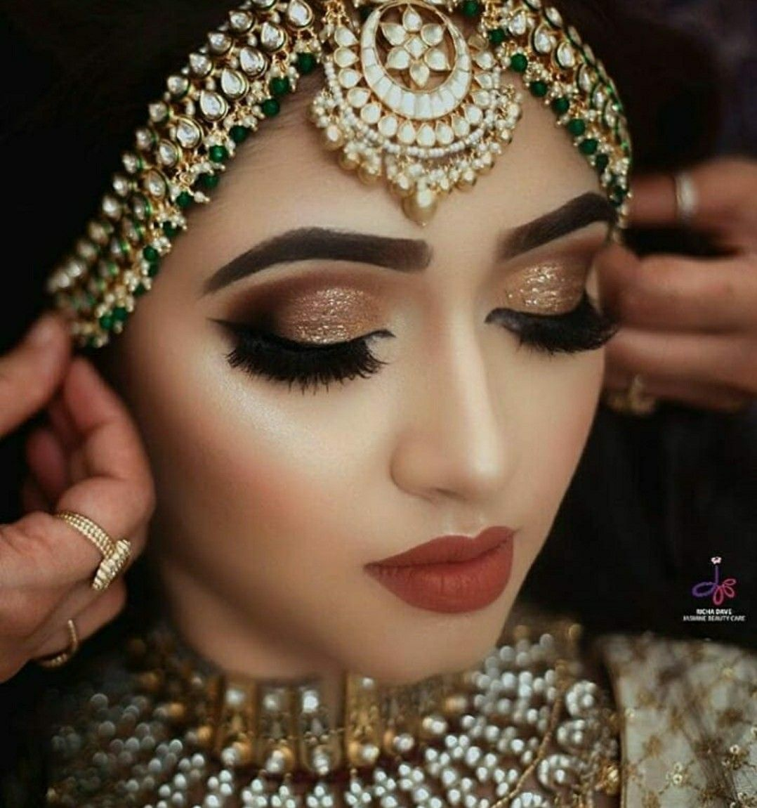 Pin By Muskan On All About Indian Weddings Latest Bridal Makeup