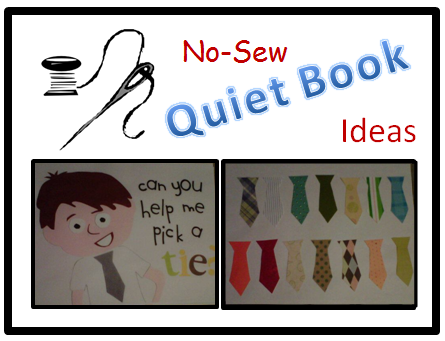 No sew quiet book no sew sew and book pages no sew quiet book pronofoot35fo Gallery