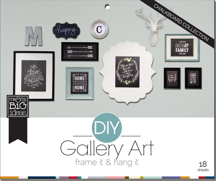 Wall decor · diy gallery pads chalkboard room pad that makes it so easy to make your own