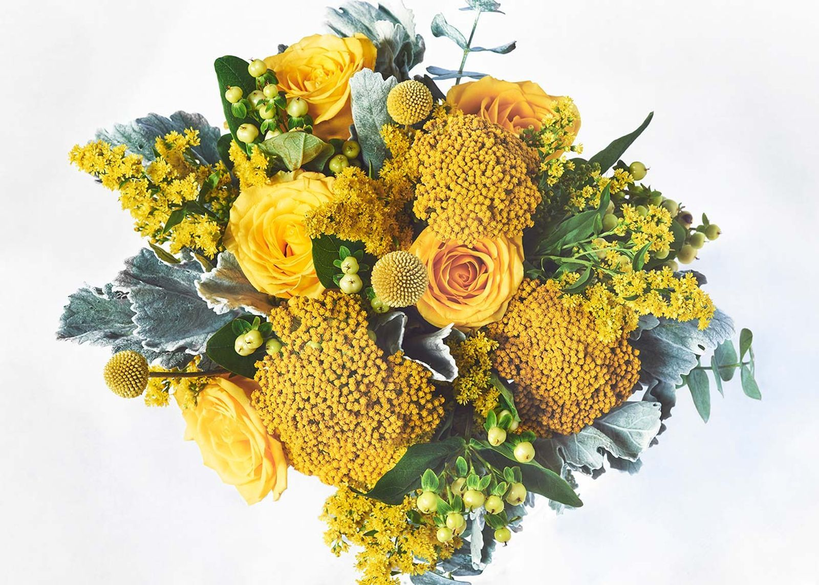 The Lemon Twist UrbanStems Online flower delivery