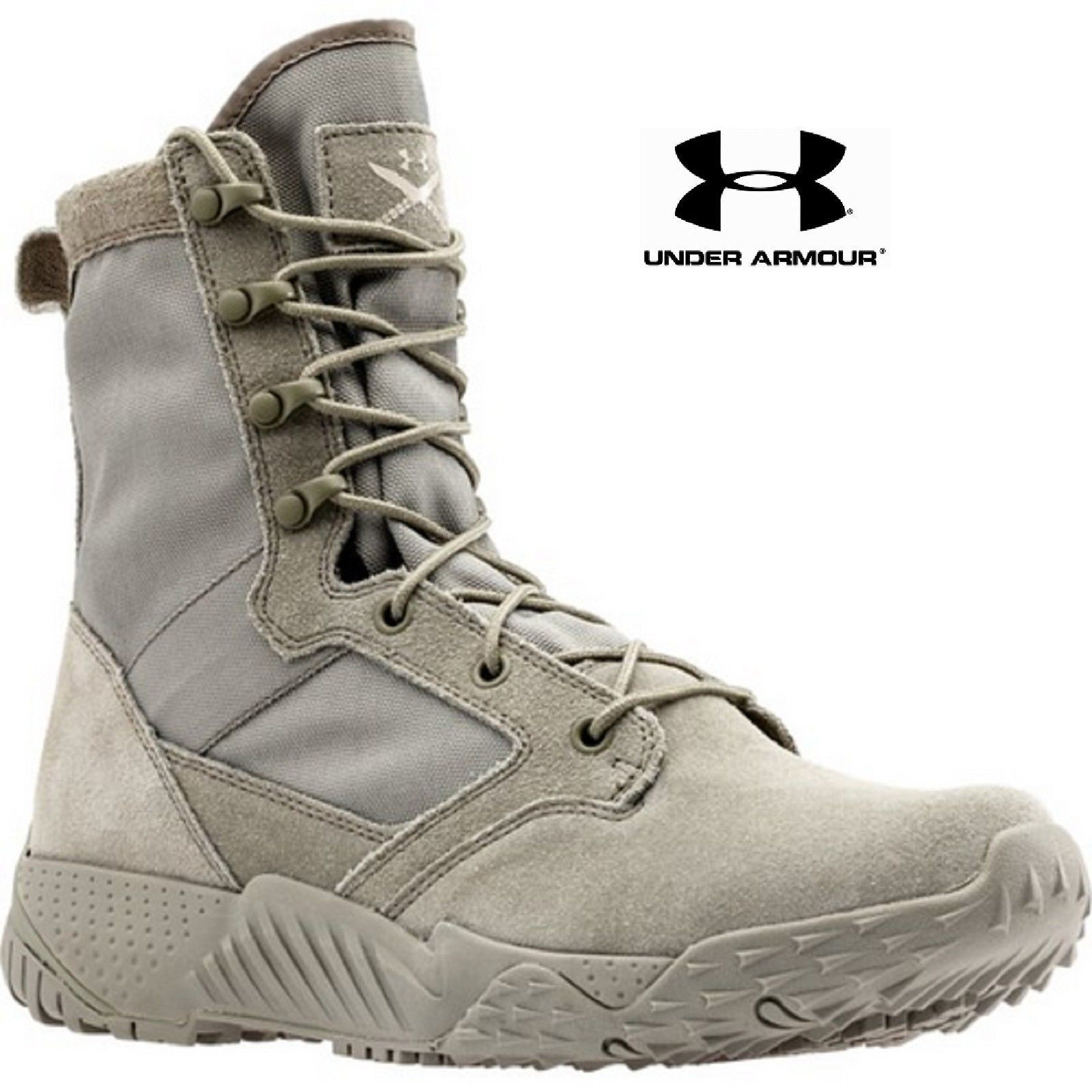 premium selection 35fe1 e05cc UNDER ARMOUR JUNGLE RAT TACTICAL BOOTS UA Storm Gear Uses a DWR Finish to  Repel Water