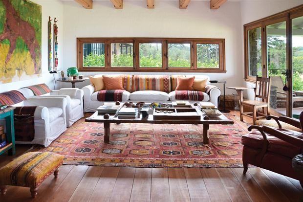 estilo campo una casa reciclada con calidez