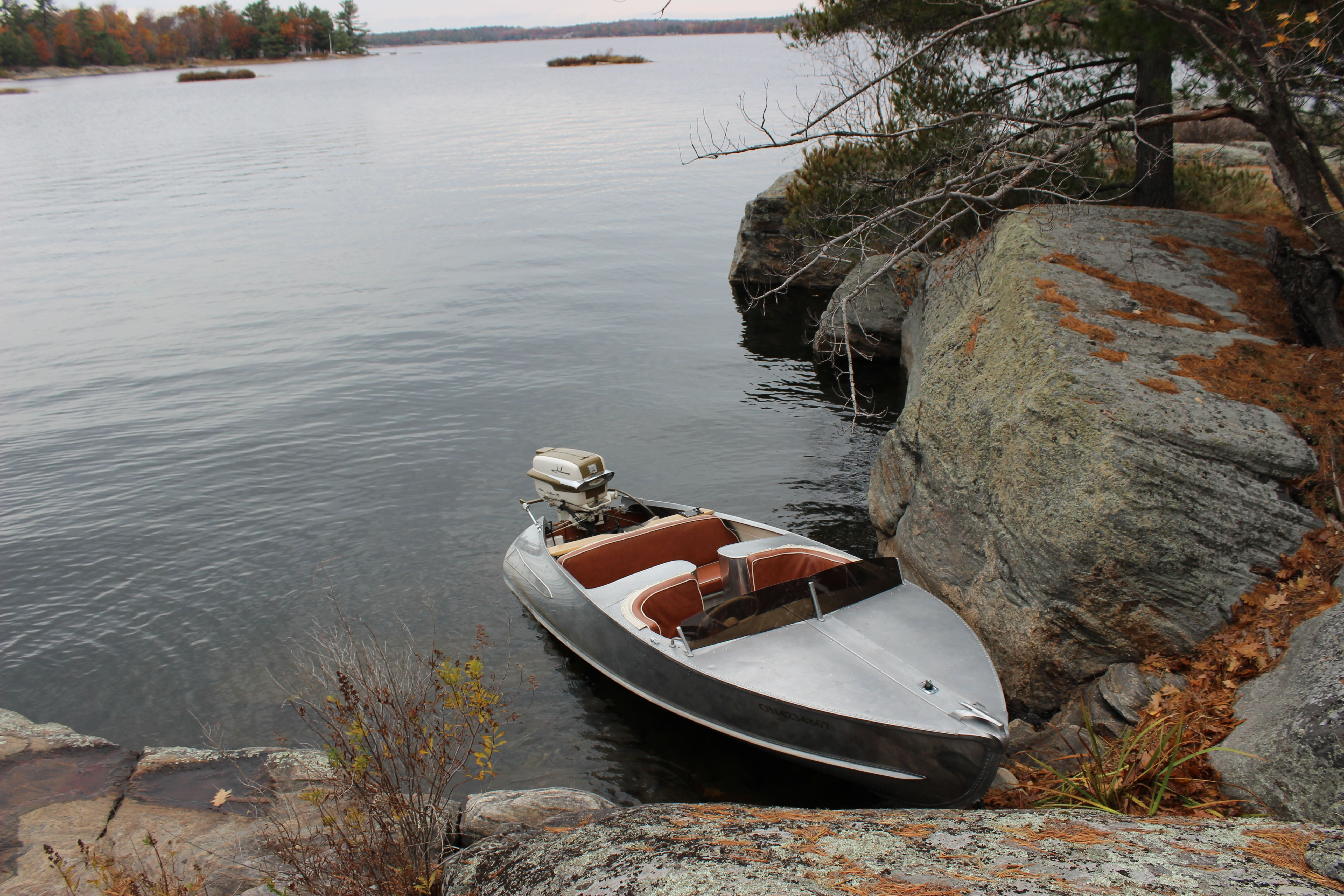 1958 Feathercraft Vagabond Boat In Mactier Ontario 2015 Boat