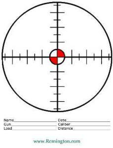photo regarding Printable Sniper Targets titled Pin upon Plans (printable)