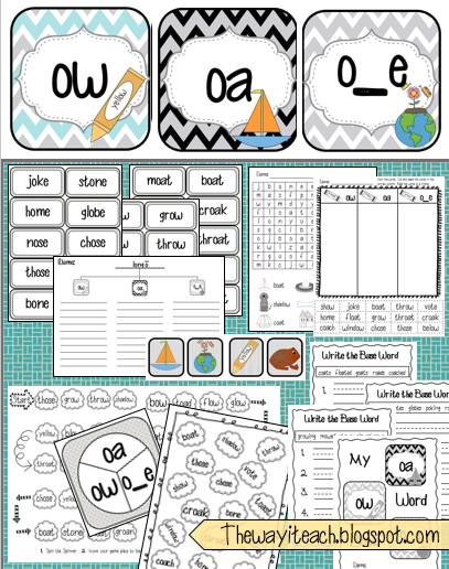 OA OW Worksheets & Activities {NO PREP!} | Activities, The long ...