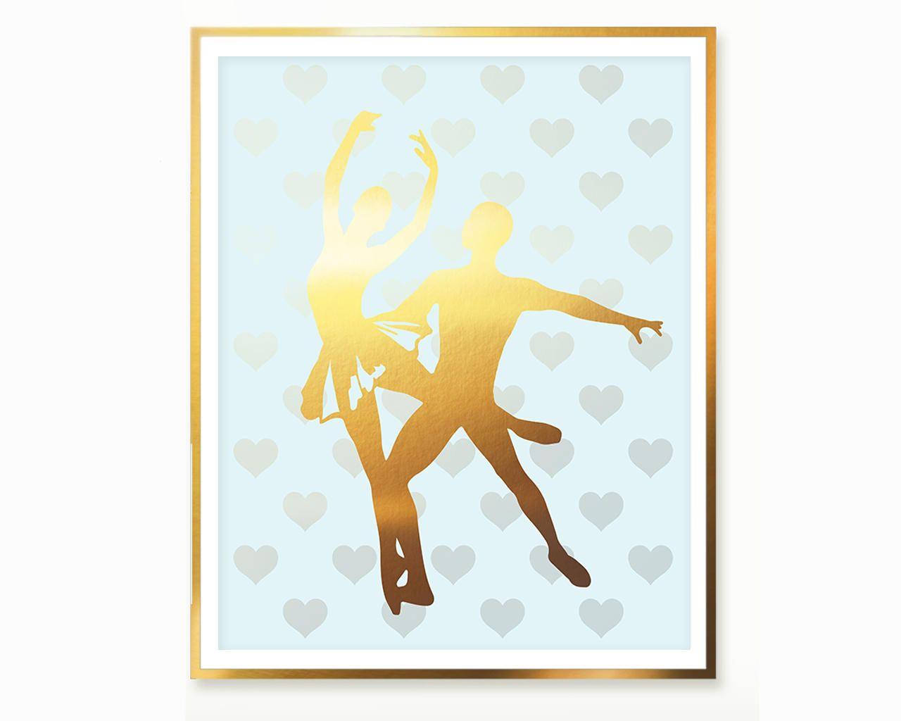 Ballet Nursery Decor , Ballet Download Gold Ballet Printables ...