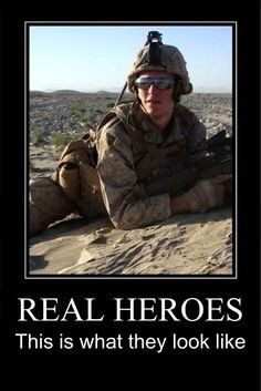 Military Hero God Bless Our Military Military Quotes Real