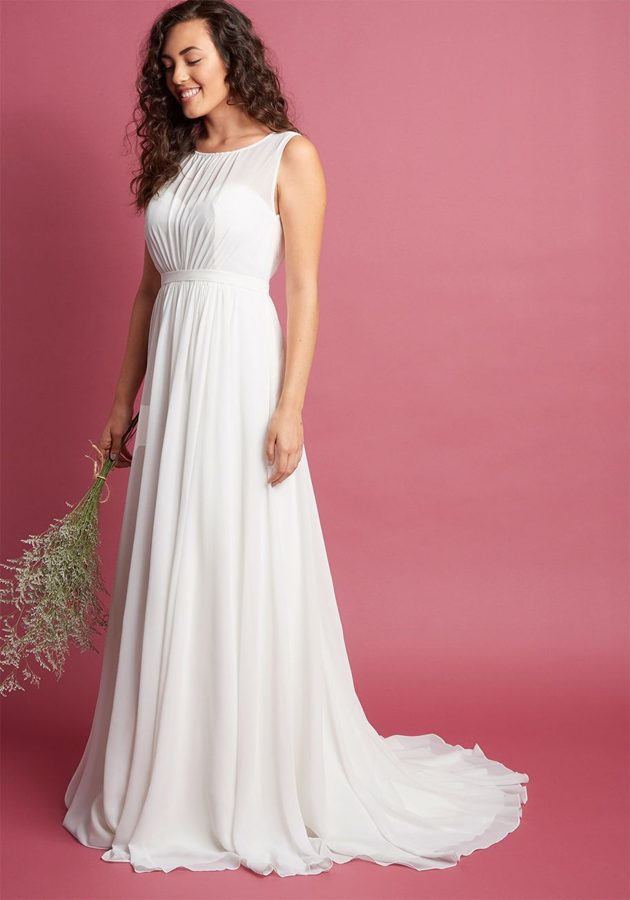 Jenny yoo reverie moment with you maxi dress in ivory wedding