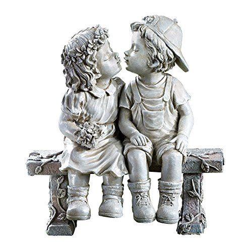 First Kiss Puppy Love Garden Sculpture White Collections Https Www Amazon Com Dp B00wguithi Ref Cm Sw R Pi Dp X H Garden Sculpture Puppy Love Love Garden