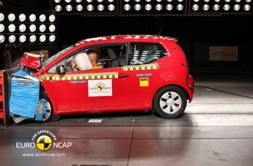 Official Vw Up 2011 Safety Rating Results In 2020 Vw Up Kids